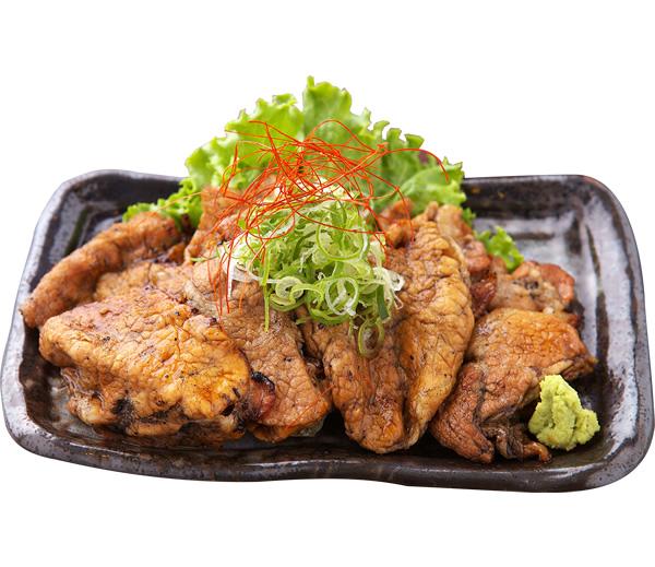 炭火焼き豚皿醤油ダレ